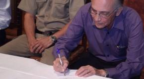 Empossados novos secretários de saúde e esportes do governo Jeová Moreira da Costa