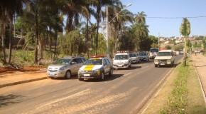 Carreata abre Semana Nacional do Trânsito, em Araxá