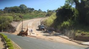 Avenida próxima ao Parque do Cristo deve ser inaugurada no final de setembro, em Araxá