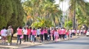 Patos de Minas dá início a Campanha Outubro Rosa, com caminhada