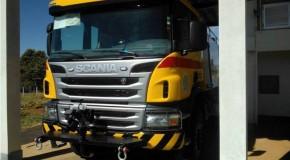 Aeroporto de Araxá recebe novo caminhão de combate a incêndios