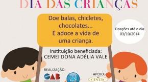 OAB de Araxá realiza campanha para o dia das crianças