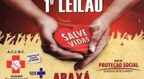 Leilão em prol do Hospital Hélio Angotti ainda está recebendo doações