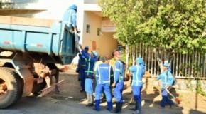 Prédio desapropriado da Adefipam recebe limpeza