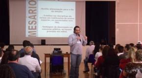 Mesários de Araxá passam por treinamento para eleições de outubro