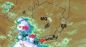 Meteorologistas alertam para tempestades severas no Triângulo Mineiro e Alto Paranaíba