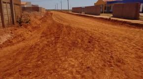 Parque Santo Antônio, em Serra do Salitre, recebe asfaltamento prometido