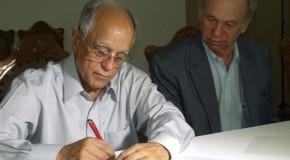 Santa Casa, de Araxá, e Helio Angotti, de Uberaba, assinam protocolo de intenções