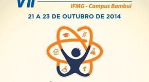 Começa hoje a Semana de Ciência e Tecnologia no IFMG Bambuí