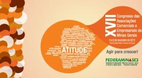 Congresso da Federaminas será realizado no mês de novembro, em Araxá