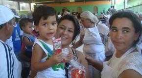 Voluntariado marca o Dia das Crianças em Araxá