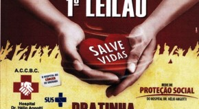 Pratinha realiza Leilão Salve Vidas, em prol do Hospital Hélio Angotti