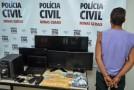 Homem preso com mais de um quilo de maconha no bairro Novo Horizonte, em Araxá