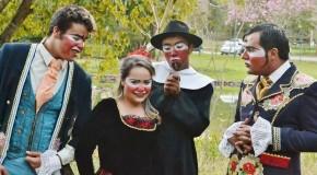 História de Dona Beja é recontada por atores araxaenses ao estilo clown