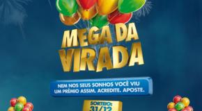 Mega da Virada tem previsão de prêmio de R$ 240 milhões