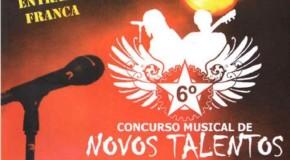 Abertas inscrições para o 6º Concurso Musical de Novos Talentos