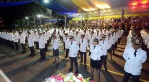 Efetivo da Polícia Militar de Minas Gerais ganha reforço com formatura de aspirantes