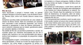 Renato Zupo volta da Europa após divulgar seu novo livro