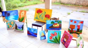 Centro de Assistência Social de Tapira realiza Feira de Artes
