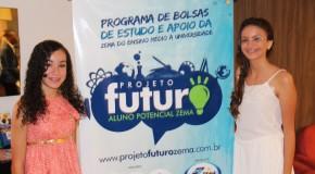 """Zema apresenta alunas selecionadas a participar do """"Projeto Futuro: Aluno Potencial Zema"""""""