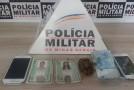 Quatro acusados de tráfico são conduzidos pela Polícia Militar de Araxá