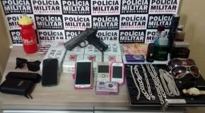 Casal acusado de roubo em Pedregulho (SP) é preso pela PRE de Araxá