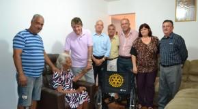Prefeito Aracely apoia Banco de Cadeira de Rodas do Rotary Club