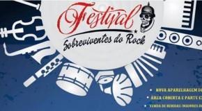 Vem aí Festival Sobrevivente do Rock, no dia oito de fevereiro