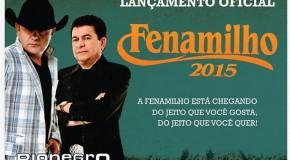 Rionegro e Solimões fazem show em Patos, para lançamento oficial da Fenamilho 2015