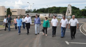 Comitiva da PMA visita Centro Universitário do Planalto de Araxá