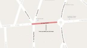Rua Paul Harris, em Araxá, volta a ser de mão dupla em trecho ao lado do estádio