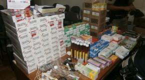 Produtos contrabandeados são apreendidos pela Polícia Militar de Ibiá