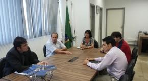 Representante da Construtora Castroviejo é recebido na Câmara de Araxá
