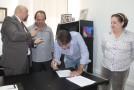 Assinado o TAC com a MPMG para retirada das palmeiras da Senador Montandon