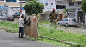 Limpeza urbana em Araxá, já passou por diversas avenidas