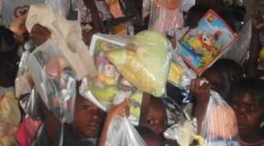 Ações de voluntários do Alto Paranaíba e Triângulo levam alegria às crianças do sudeste da África