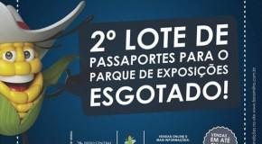 Esgota o 2º lote dos passaportes para o Parque de Exposições da Fenamilho 2015