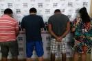 Polícia Civil de Araxá prende os acusados, de pelo menos, quatro roubos na cidade