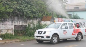 Carro Fumacê, de combate ao Aedes, faz novos itinerários pelos bairros de Araxá