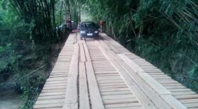 Secretaria de Desenvolvimento Rural de Araxá recupera Ponte Queimada