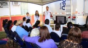 Tapira recebe carreta odontológica para atendimentos até o mês de agosto