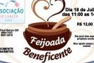 Associação do Câncer em Araxá realiza Feijoada Beneficente no dia 18 de julho