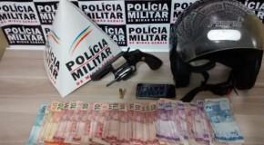 Acusados de roubos detidos pela PM e mulher é presa por dirigir após fumar maconha