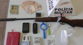Homem preso por tráfico de drogas em Tapira