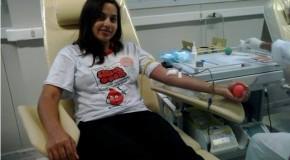 Associação dos doadores de sangue de Araxá promove mais uma campanha de conscientização