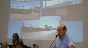 Vereador Fabiano pede manutenção em muros que cercam subestação da Cemig