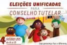 Eleições Unificadas para Conselheiros Tutelares acontecem nesse domingo