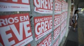 Bancários de Araxá entraram em greve nessa terça feira