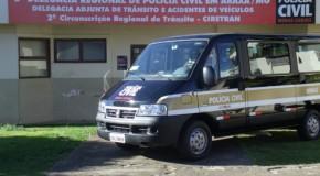 Serviços de vistoria da Delegacia da PC em Araxá passam por melhorias