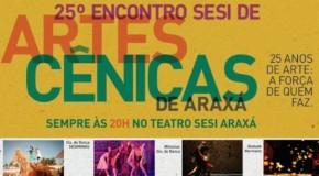 Oficinas do Encontro SESI de Artes Cênicas oferecem aperfeiçoamento aos artistas